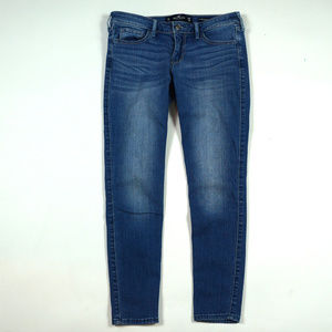 Hollister Low Rise Super Skinny Crop Size 26 Jeans